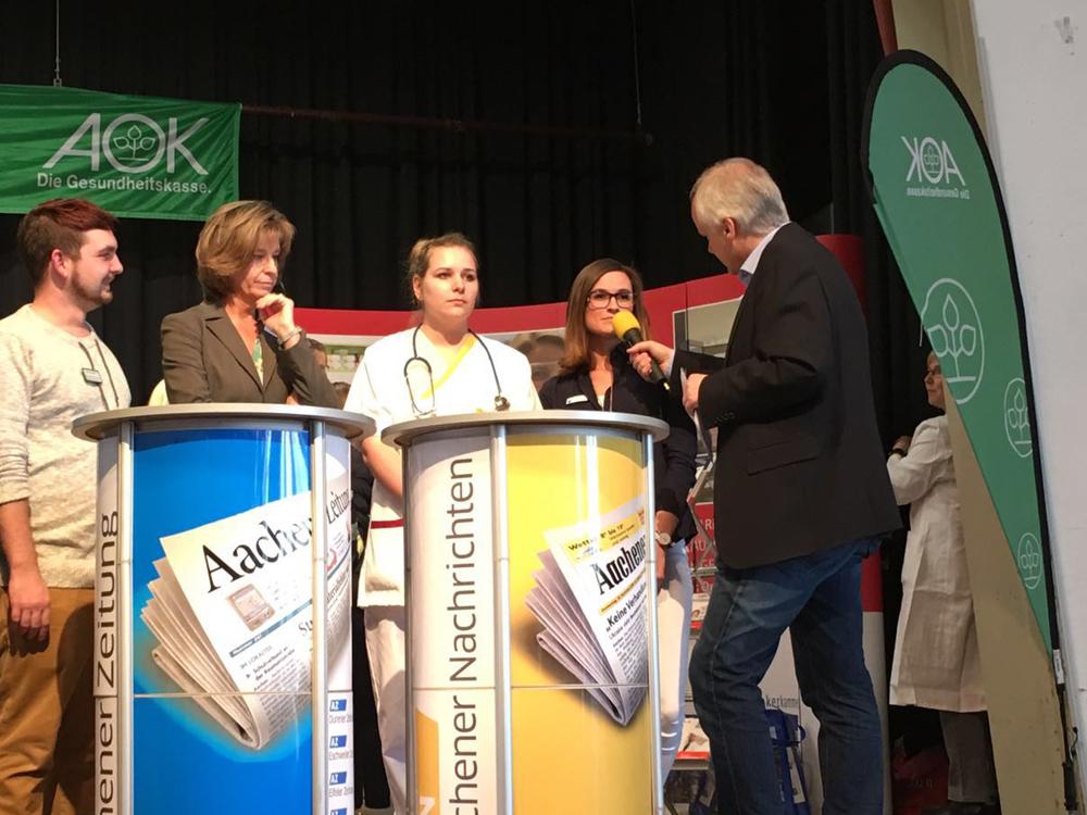 Zahnarzt Heinsberg -  Berufsstartermesse EDUCATION