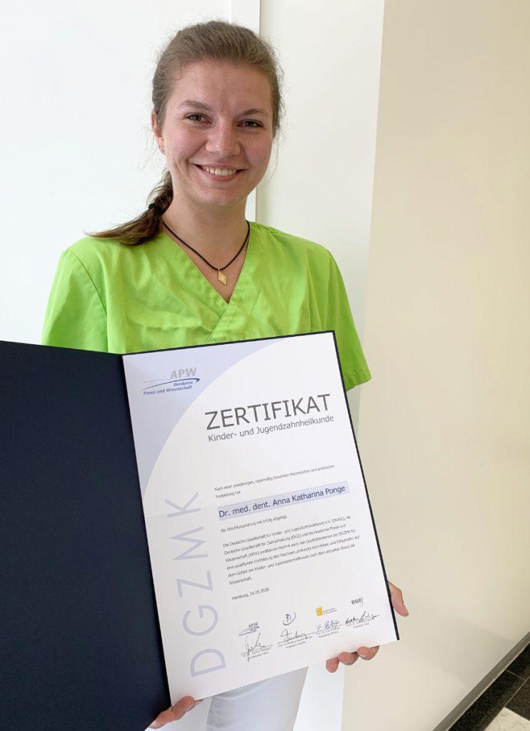 Zahnarzt-Heinsberg - Dr Katharina Ponge DGKiz